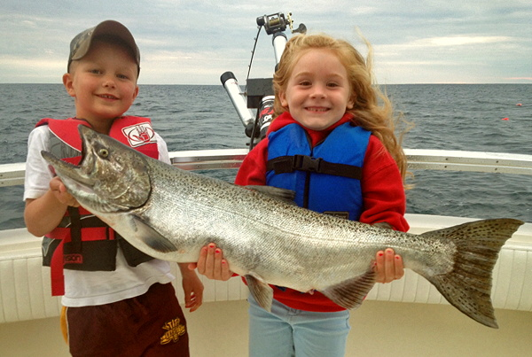 Fish Hunter Charters, Frankfort, MI